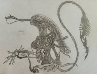 Giger's alien redesign by TheDubstepAddict