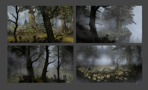 Memoria Forest by JustaBlink