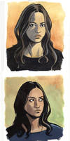 Agents of SHIELD - more Skye character studies by astridv