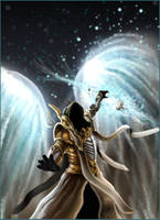 Itherael, archangel of fate by TheRpp
