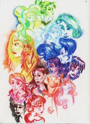 Disney Princess by ghiblilover
