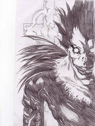 ryuk death note by 3nvii