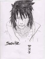 sasuke crying by 3nvii