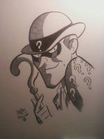 THE RIDDLER by ChrisFaccone