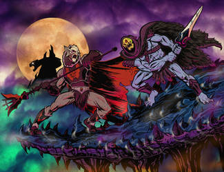 HORDAK VS SKELETOR animated by ChrisFaccone