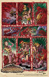 Savage Conquest page poster print. by ChrisFaccone