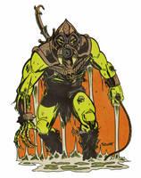 Toxic warrior by ChrisFaccone