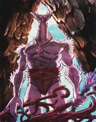 Owl King by ChrisFaccone