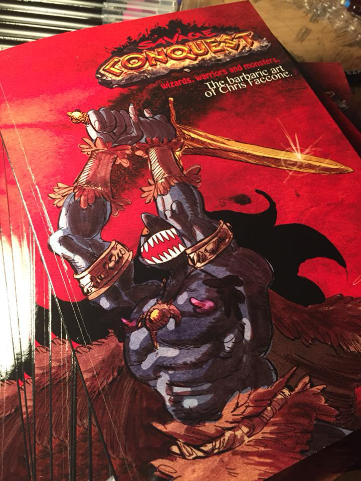Savage Conquest artbook by ChrisFaccone