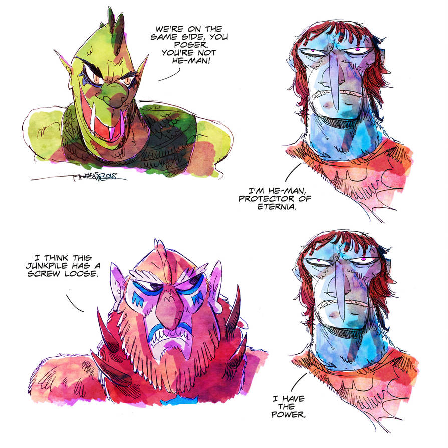 Masters of the Universe by ChrisFaccone