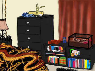 My Favorite Place Challenge: My Bedroom by NinjaStripes