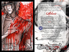 UNDISMANTLED :: promo flier. by retromortis