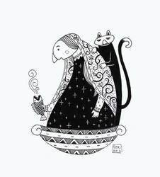 Hindustanwoman by feriwe
