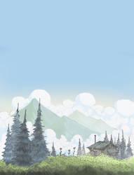 Mossgrow Peak by BeardyPine