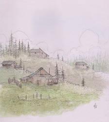 Hillside by BeardyPine