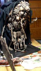 Dark Souls Gravelord Nito sculpture view 1 by futantshadow