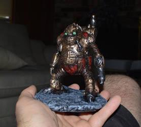 Chrono Trigger Robo statue by futantshadow