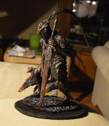 Dark Souls Artorias statue highly detailed by futantshadow
