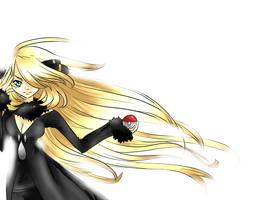 Cynthia: Pokemon D-P by dream--chan