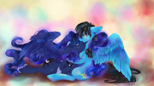 COMMISSION: The Night's Embrace by dream--chan