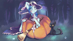 YCH - Halloween Special (Fishie Wishes) by dream--chan