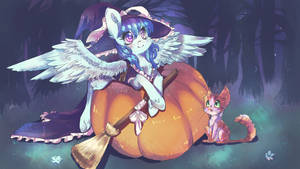 YCH - Halloween Special (Shatterfish) by dream--chan
