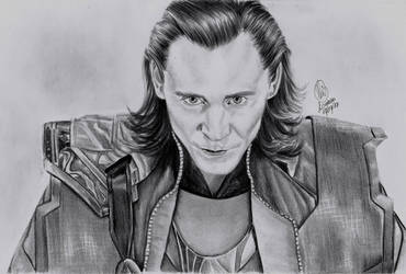 Loki (Tom Hiddleston) by TimeLadyGirlLDC