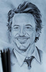 Robert Downey Jr. by TimeLadyGirlLDC
