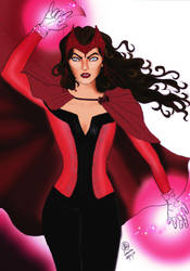 Scarlet Witch by TimeLadyGirlLDC