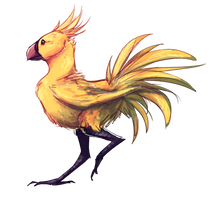 Chocobo by Liimesquares