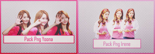 PACK PNG Yoona Irene #35 by alwaysmile19