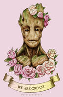 We Are Groot by Serrifth