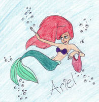 The Little Mermaid by harleyengle