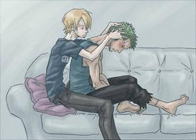 Head Massage by SybLaTortue