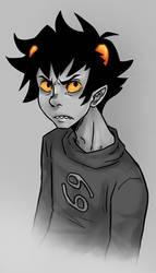 Grumpy Troll by SybLaTortue
