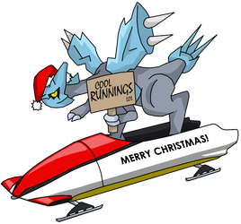 Kyurem in a bobsled says.... by ProfessorZolo
