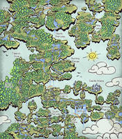 Ara Fell Map by Caladium