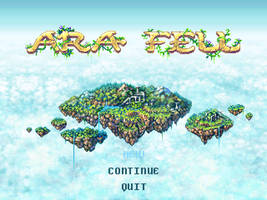 Ara Fell Title Screen by Caladium