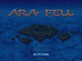 Ara Fell-Title-Night by Caladium