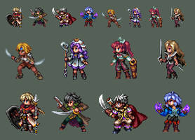 R3P - Battle Sprites by Caladium