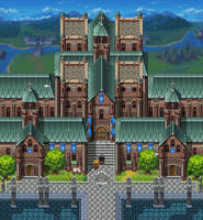 Temple Telindra by Caladium