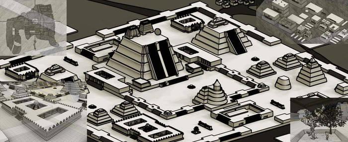 Tenochtitlan by nahual4004