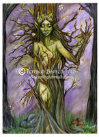 Tree Spirit by Terrauh