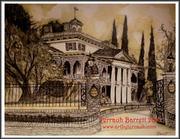 The Haunted Mansion by Terrauh