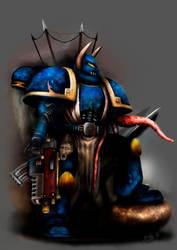 Chaos Warrior - Halo Stars 2012 by snakeartworx