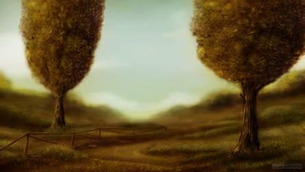 Meadows of Heaven by snakeartworx