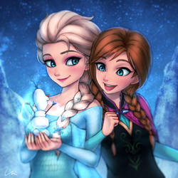Do you wanna build a snowman? by umigraphics
