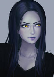 Widowmaker Portrait by umigraphics