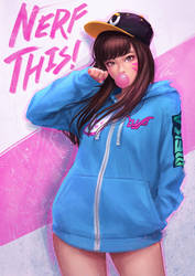 Hoodie D.va by umigraphics
