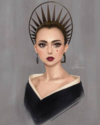 Lily Collins by umigraphics